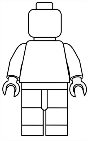 300x477 Lego Printable Coloring Pages