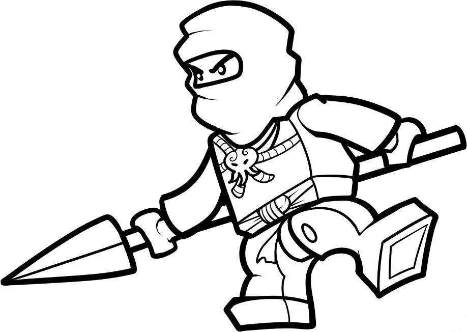 918x652 lego ninjago coloring pages for kids - Ninjago Coloring Page