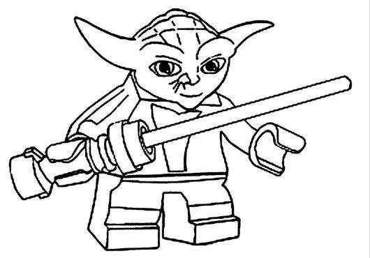 530x370 Star Wars Printable Coloring Pages Lego