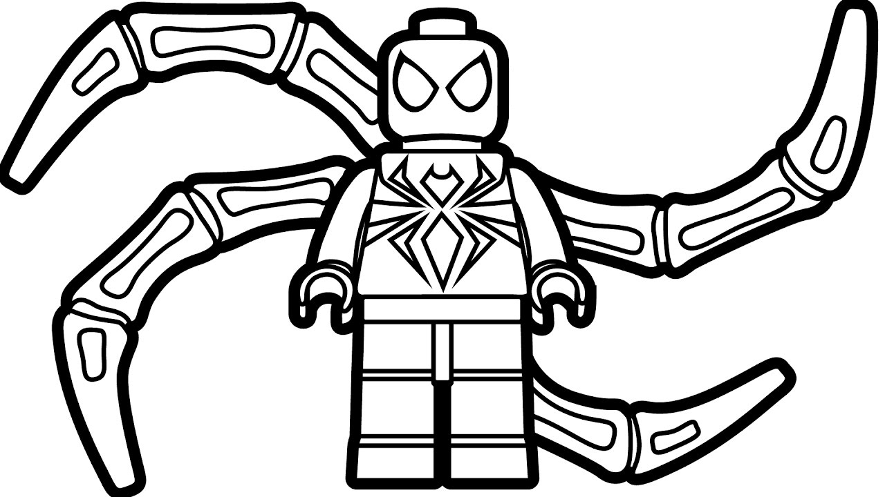 Lego Marvel Coloring Pages To Download And Print For Free: Free Download Best Lego Coloring