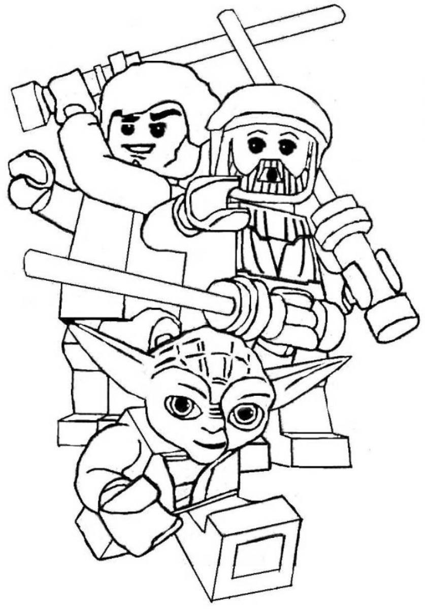 837x1200 Star Wars Coloring Pages Printable