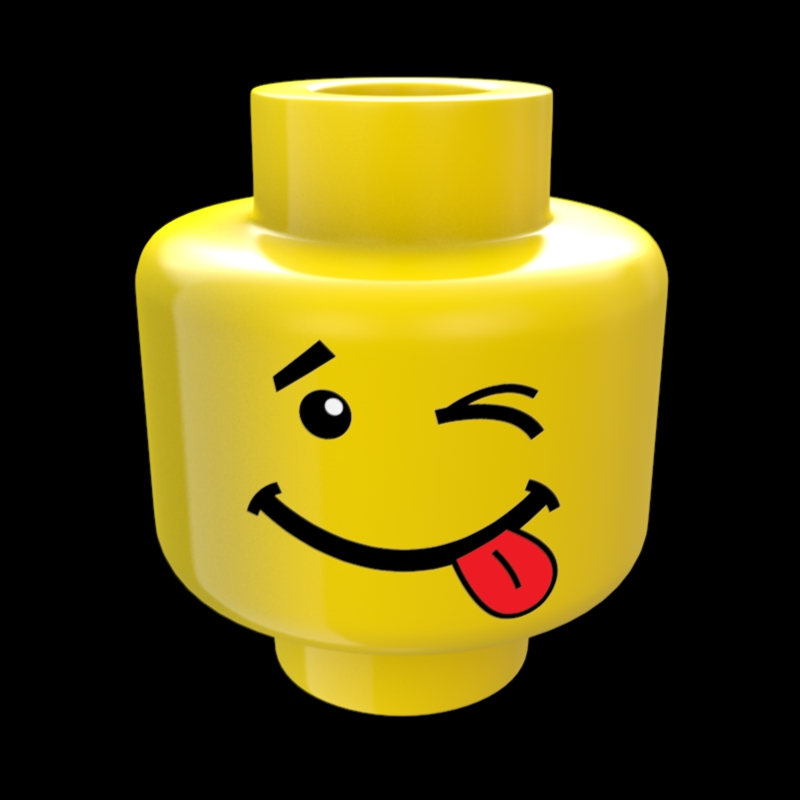 800x800 Lego Clipart Happy