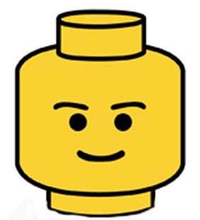 283x311 Lego Clipart Lego Head