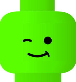256x278 Lego Clipart Wink
