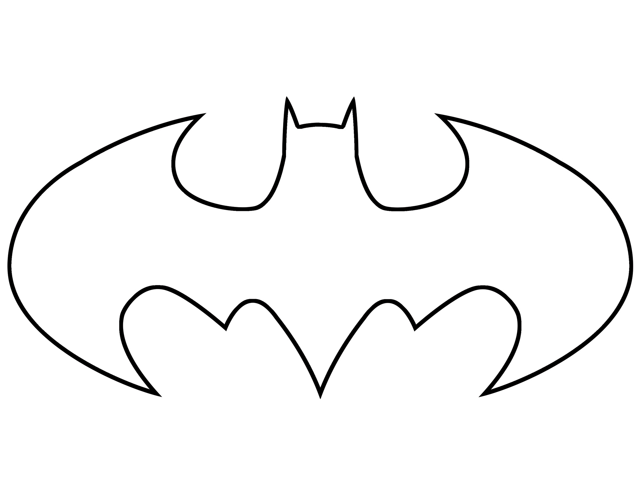 2200x1700 Batman Logo Clip Art Many Interesting Cliparts