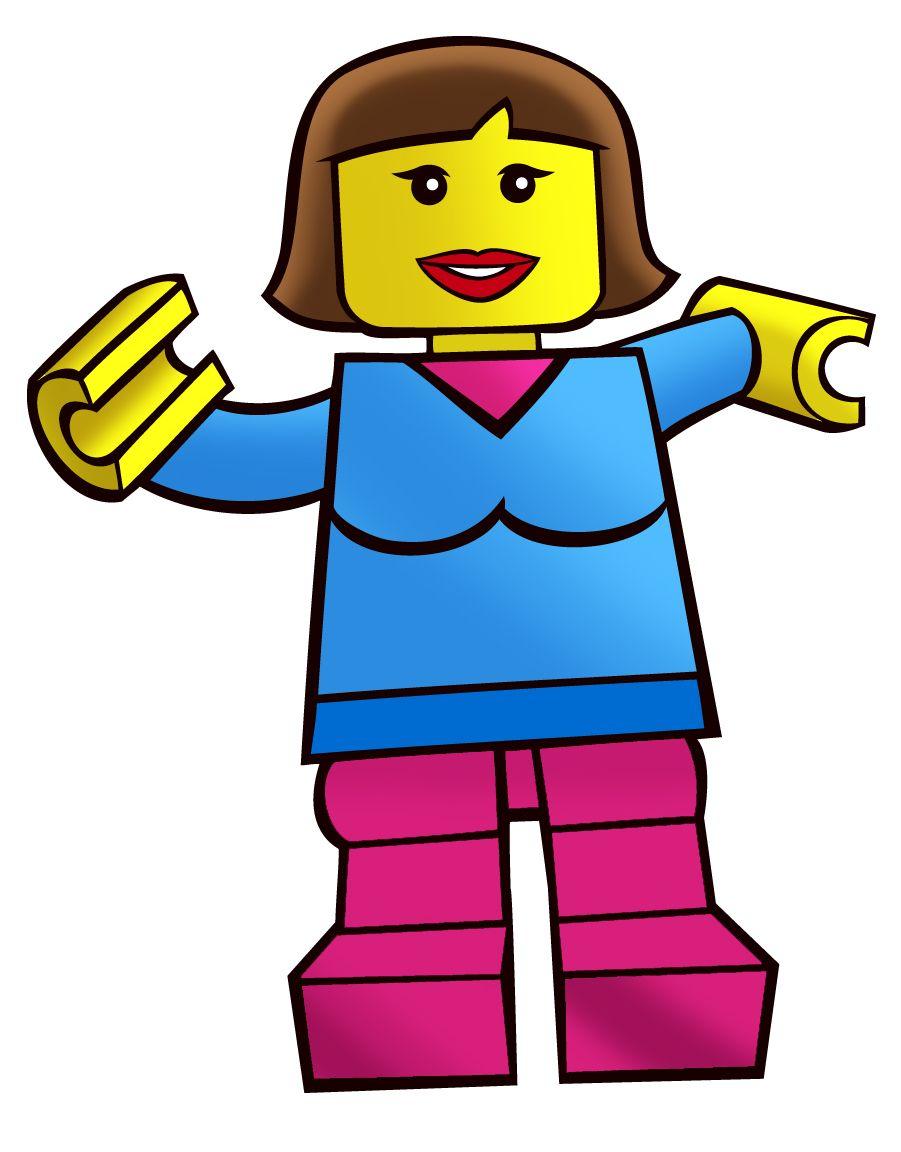 901x1152 Lego Town Businessman Clip Art Free Vector Clipart Image 3