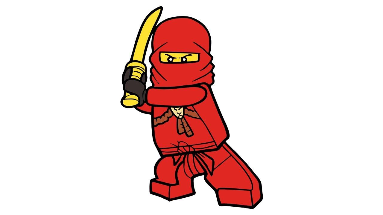 1280x720 Como Desenhar O Kai De Lego Ninjago (personagem)