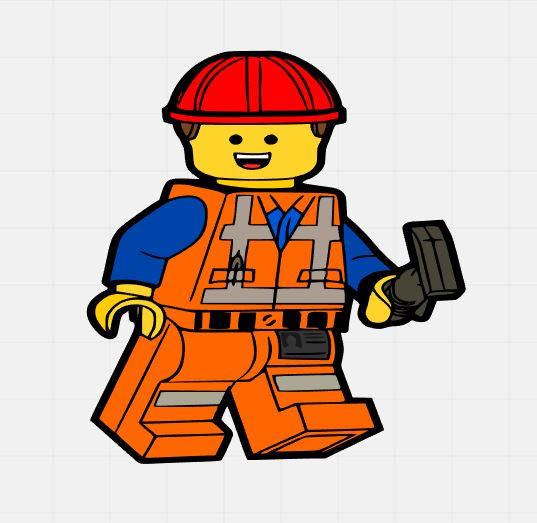 537x523 Emmet Lego Man Lego Movie Svg Svg Cut File Svg Cutting