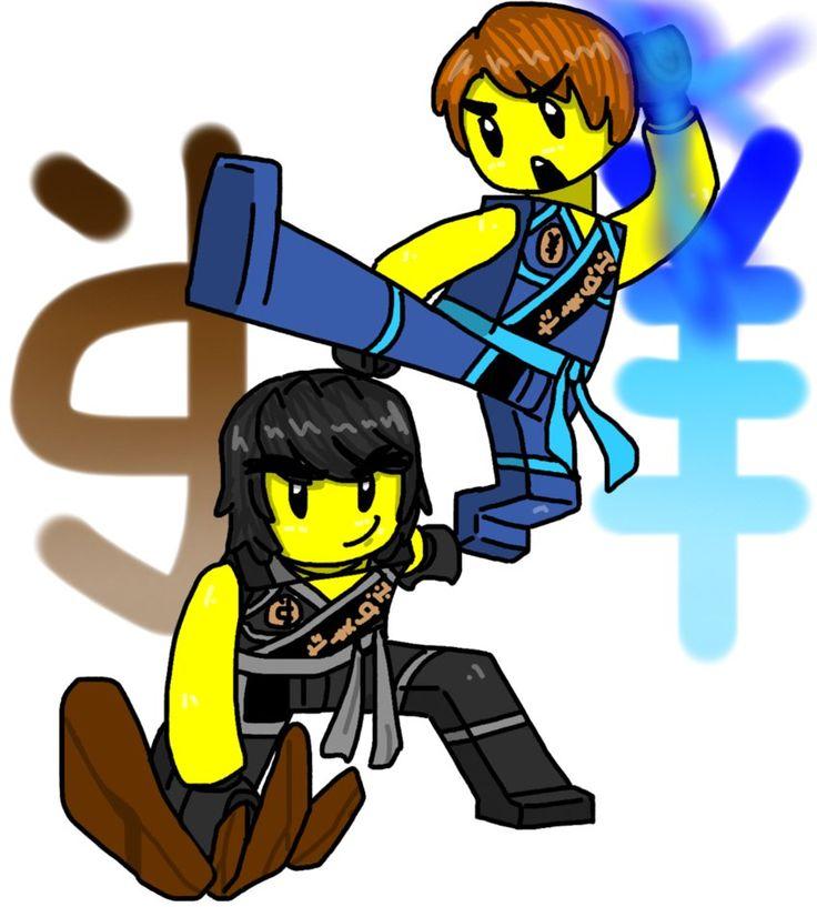 736x817 Lego Ninjago Cole N Jay By Maylovesakidah On Ninjago