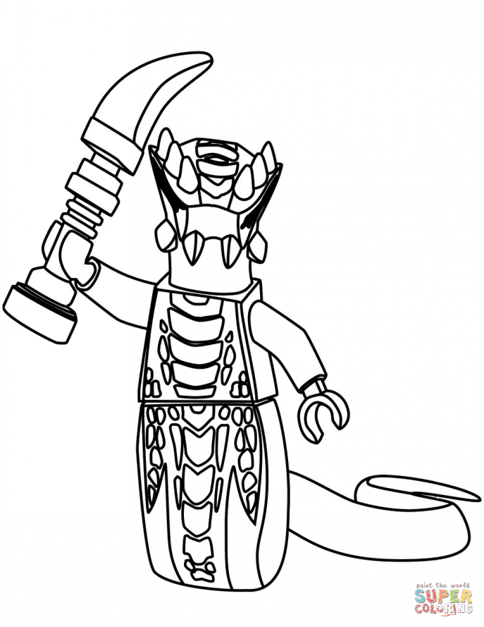 687x889 Coloring Pages Pictures Of Lego Ninjago Acidicus Page