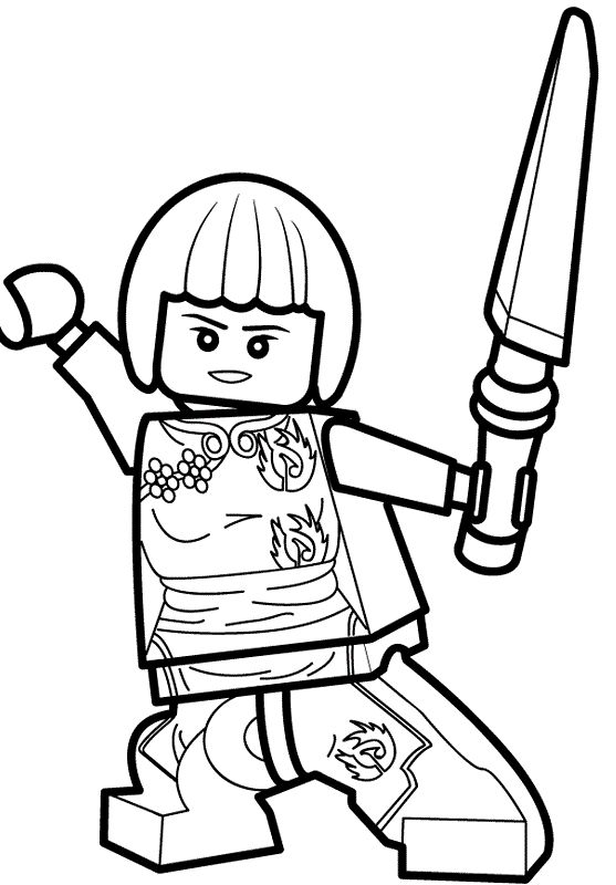 ... LEGO Ninjago Coloring Pages. 557x800 13 Best Dessins Images Coloring  Books, Coloring