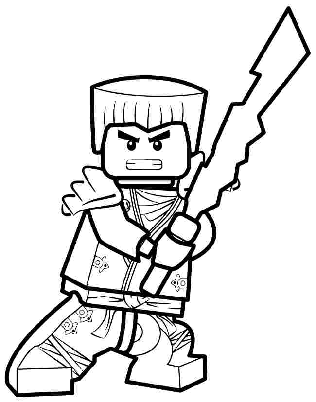 650x827 Ninjago Coloring Pages Lloyd Free Printable Lego Ninjago Coloring