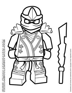 236x305 5 Outstanding Lego Ninjago Coloring Pages