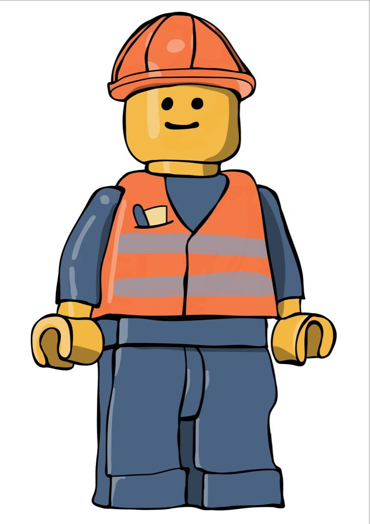 Lego People Clipart
