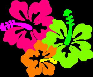 298x246 Hibiscus Candyleiscious Lei Clip Art