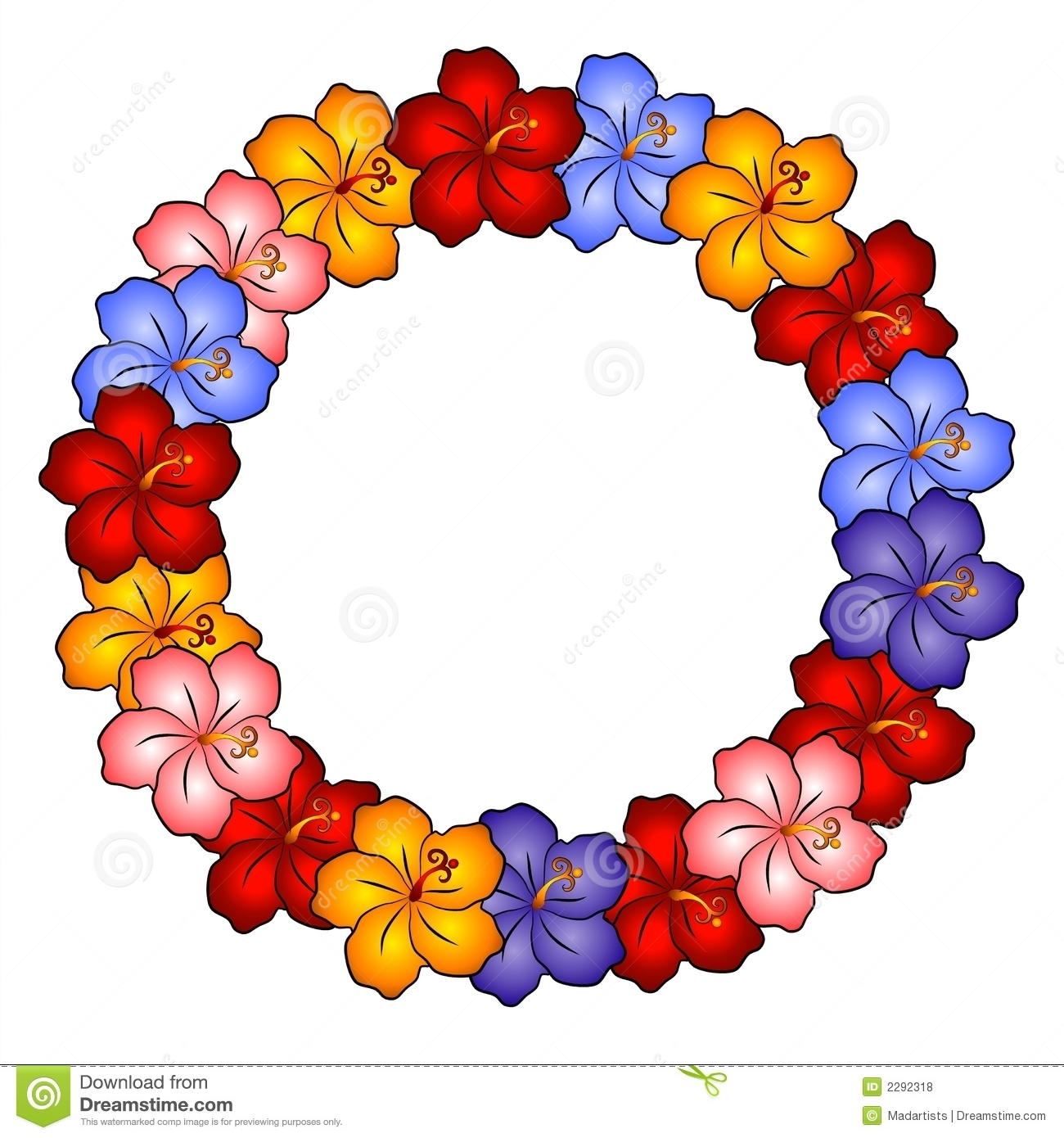 1300x1390 Flower Clip Art Of Lei Cliparts