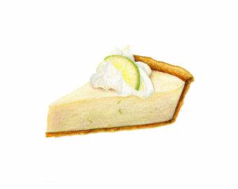 340x270 Lime Pie Cliparts 228030