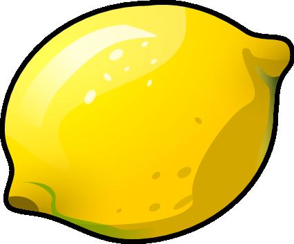 426x353 Lemon Clip Art