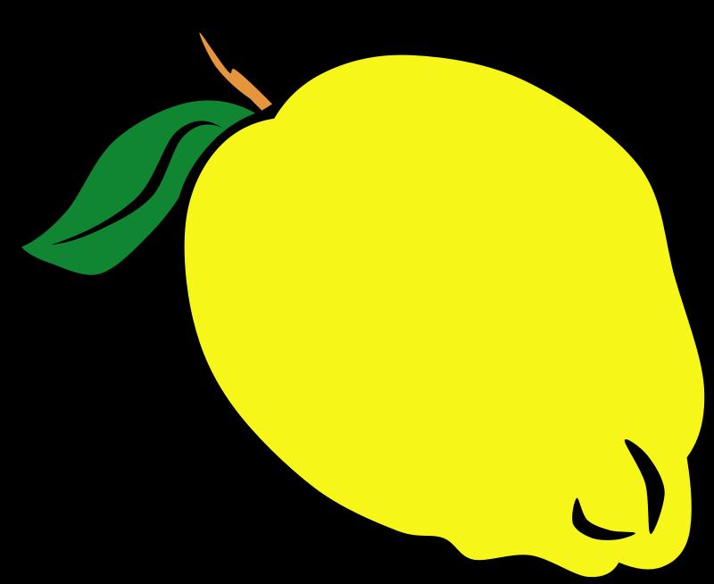 800x654 Lemon Clipart