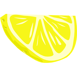 300x300 Lemon Clipart Lemon Wedge
