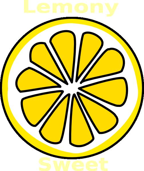 504x600 Lemon Slice Clip Art