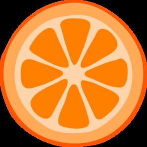 297x297 Orange Slice Clip Art