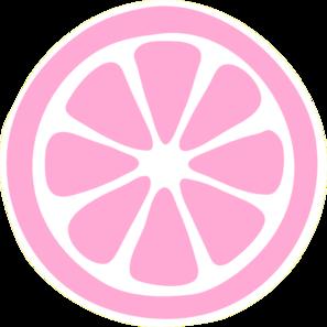 297x297 Pink Lemon Slice Clip Art
