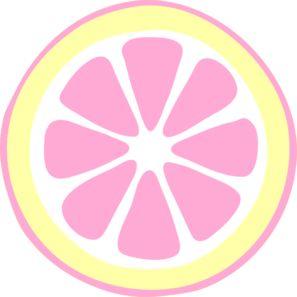297x297 Pink Lemon Slice Clip Art Vector Clip Art Free 2