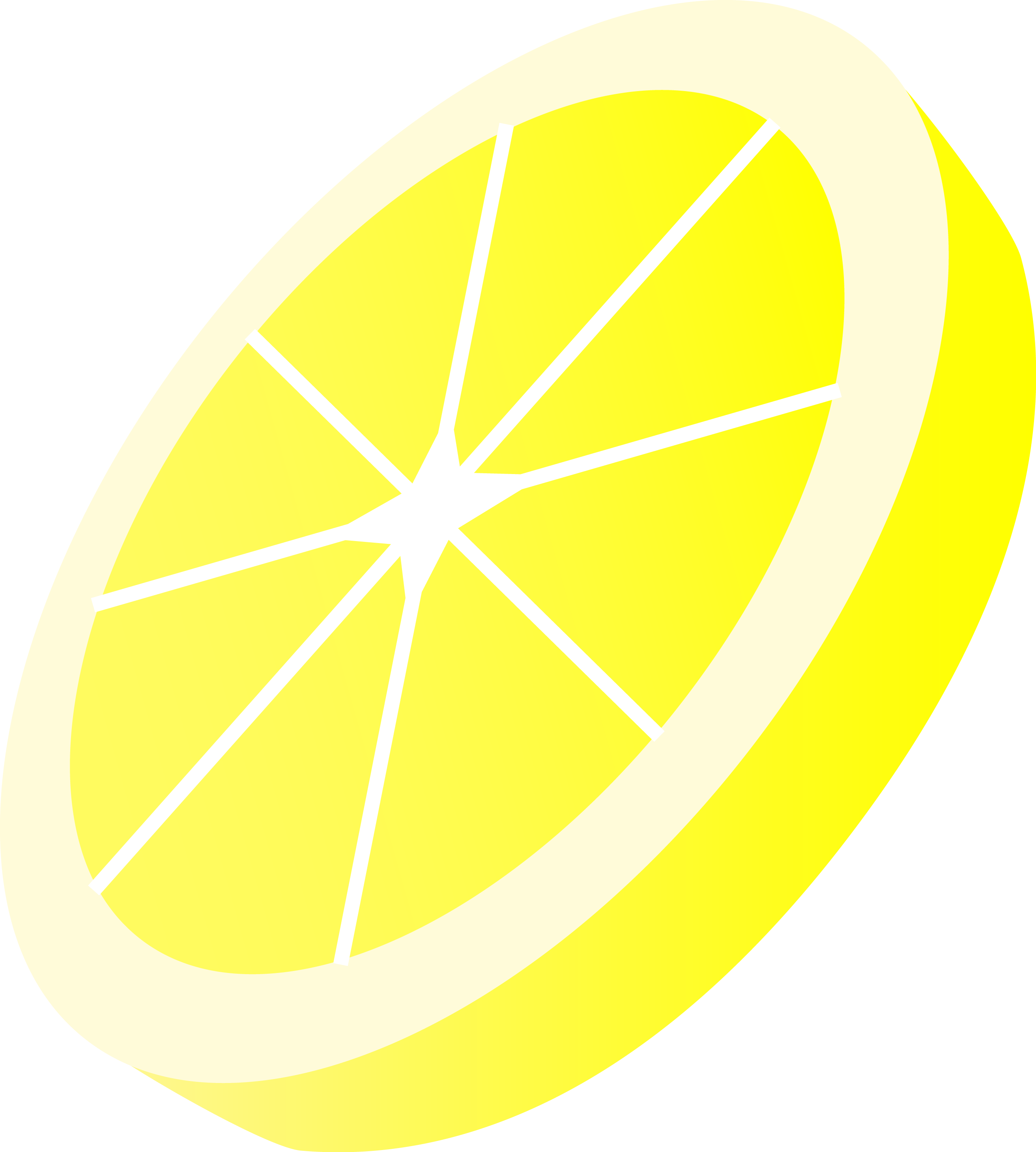 2626x2921 Round Yellow Lemon Slice
