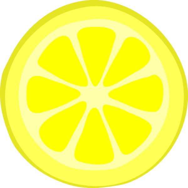 Lemon Slices Clipart