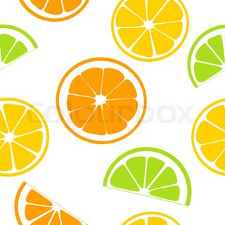 320x320 Slices Of Lemon, Orange And Lime Stock Vector Colourbox