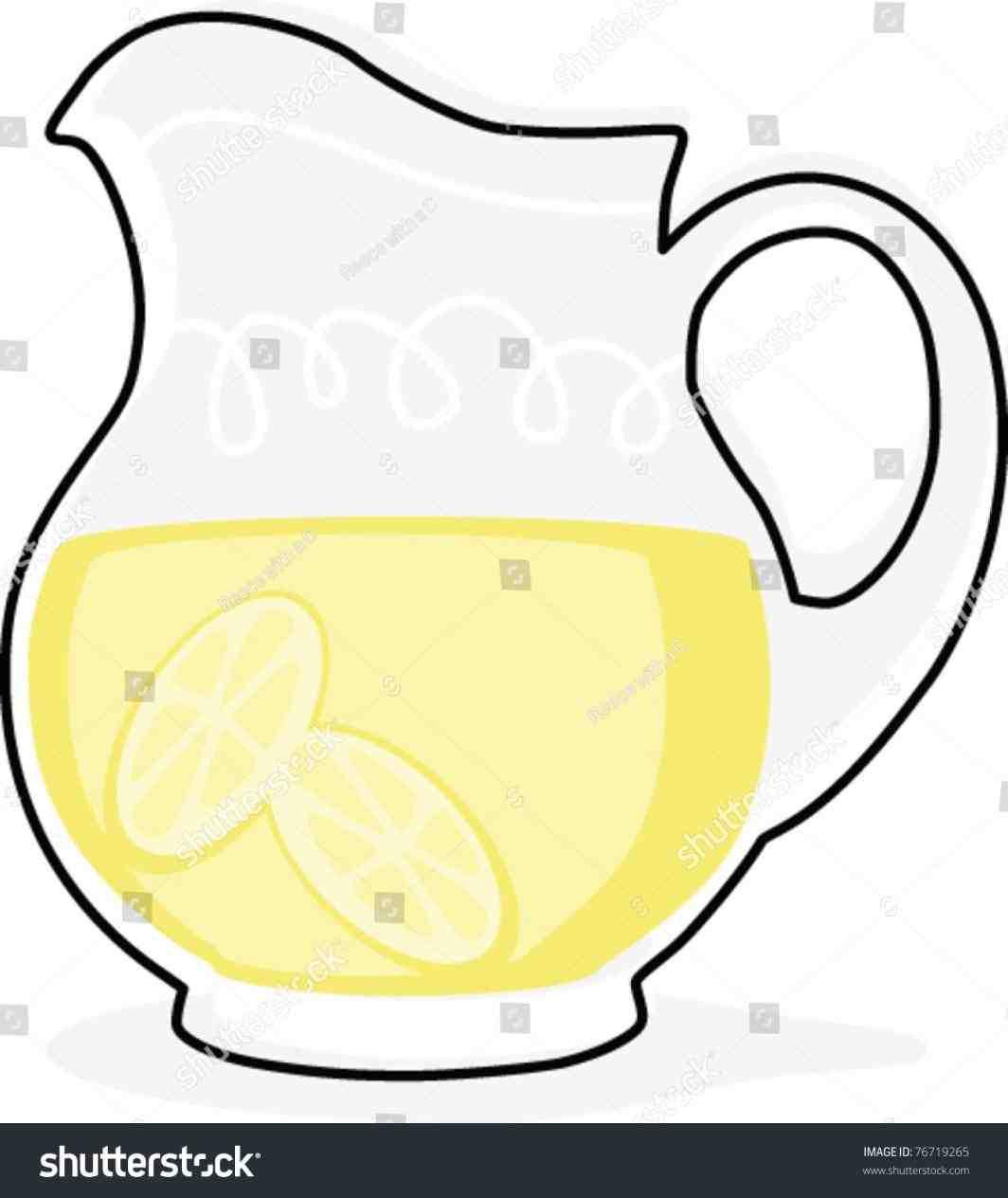 1064x1264 Lemonade Pitcher Drawing