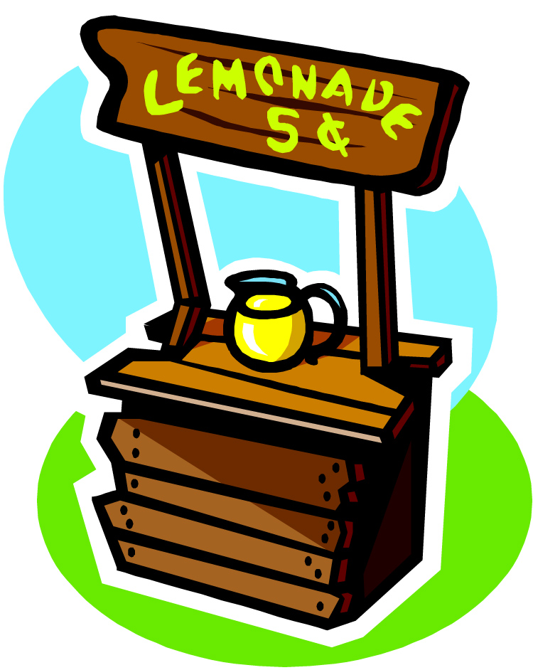 750x942 Lemon Clipart Lemonade Stand