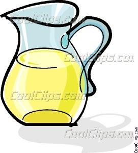 271x300 Jug Of Lemonade Vector Clip Art