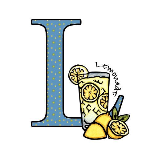 500x500 Lemonade Sarah The Printmaker