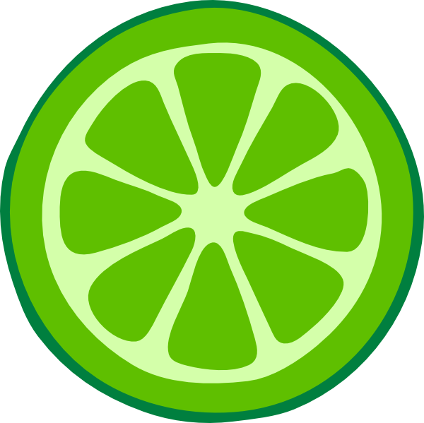 600x599 Green Clip Art Lime Slice Clip Art Clip Art