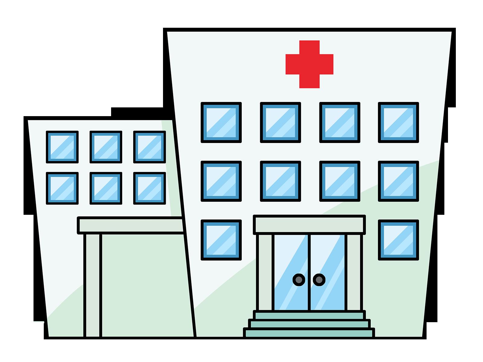 1600x1200 Clip Art Hospital