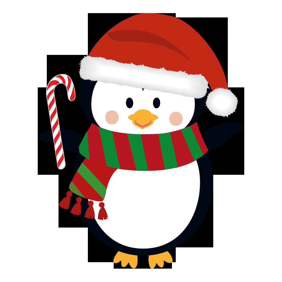 1181x1181 Image Result For Penguin Clip Art Christmas Artwinter