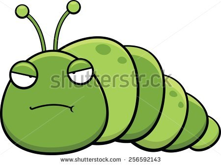 450x337 Inchworm Clipart Length