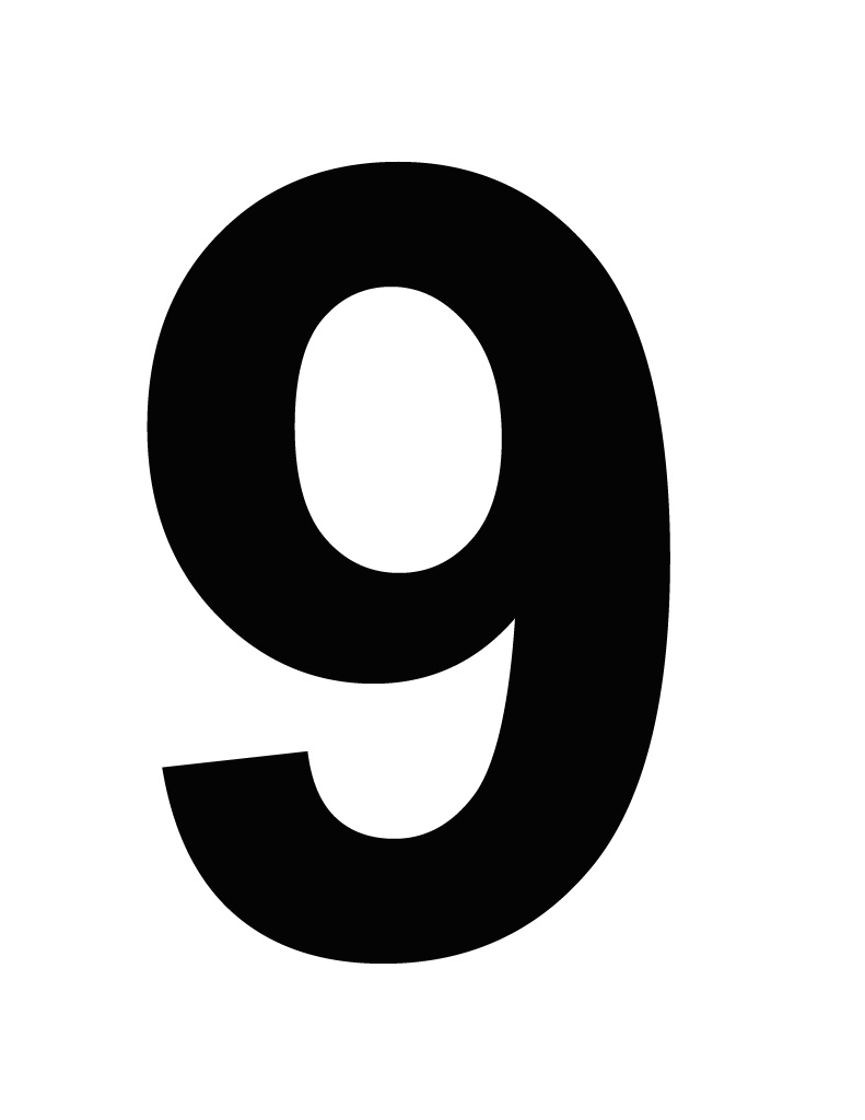 791x1024 Image Of Number 9