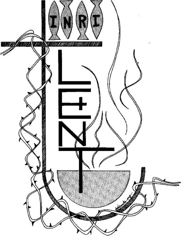 640x836 Clip Art Lent Cross Clipart