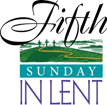 343x336 Fifth Sunday In March Clipart