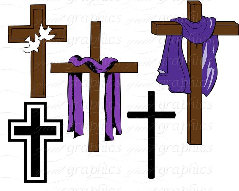 800x640 Clip Art Lent Cross Cliparts