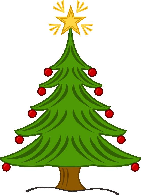 555x767 Leopard Christmas Tree Clip Art