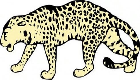 490x280 Leopard Clip Art Leopard Clip Clipart Panda