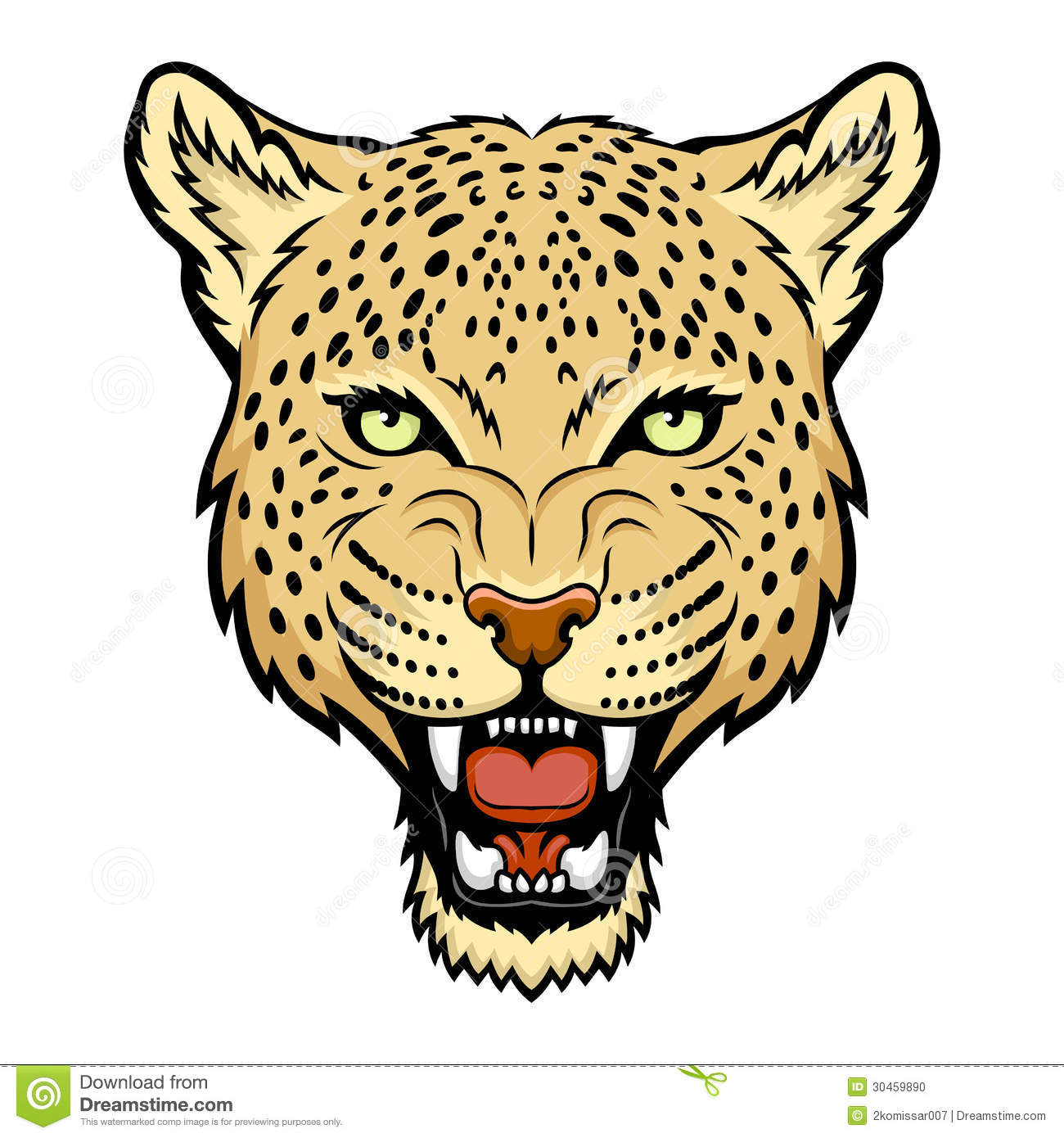 1300x1390 Leopard Clipart Amur Leopard