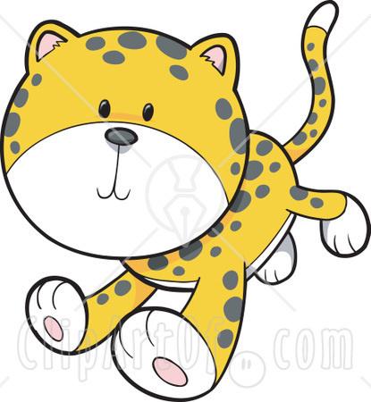 415x450 Leopard Clipart Cute Leopard