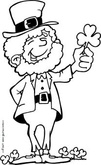 207x338 St. Patrick's Day Clipart St Patrick's Day Clipart Black And White