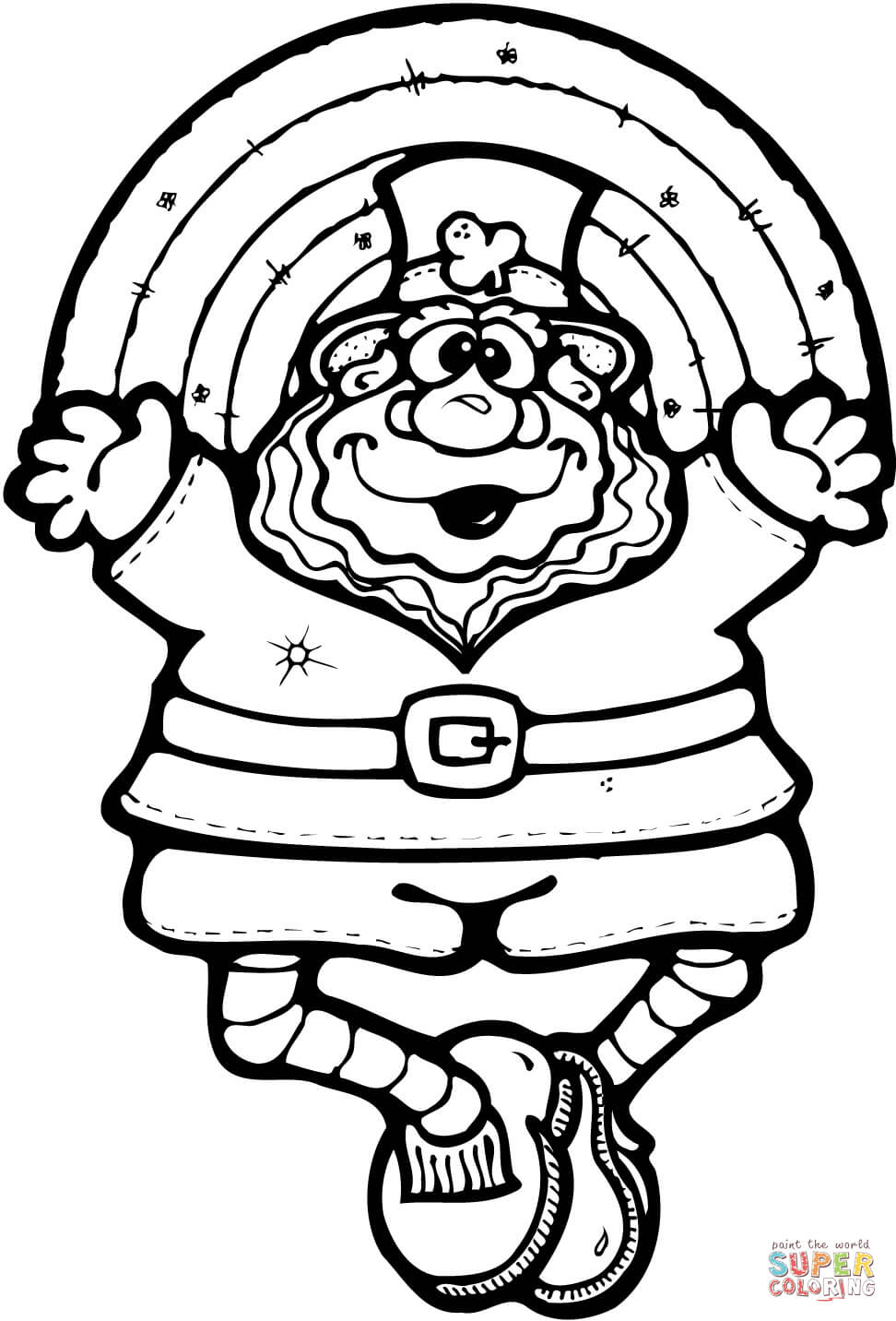 972x1432 Leprechaun Printable Coloring Pages
