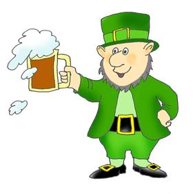 280x281 Irish Clipart Leprechaun Beer